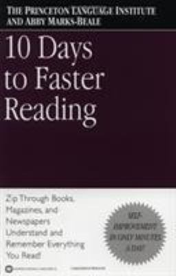 10 Days to Faster Reading 9780446676670