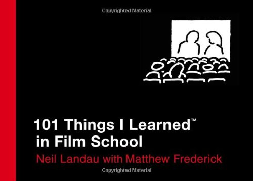 101 Things I Learned in Film School 9780446550277