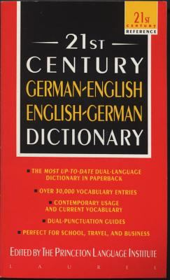 21st Century German-English English-German Dictionary 9780440220893