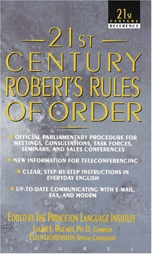 21st Century Robert's Rules of Order 9780440217220