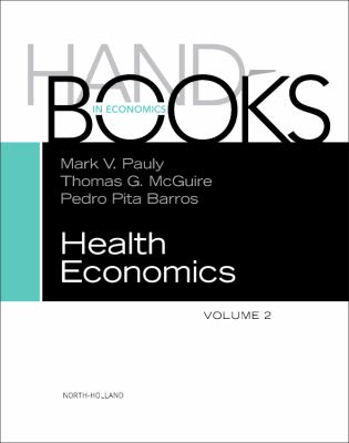 Handbook of Health Economics 9780444535924