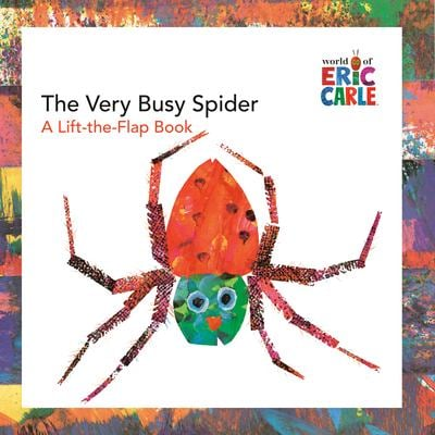 The Very Busy Spider: A Lift-The-Flap Book 9780448444215