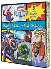 Marvel Little Golden Book Library (Marvel Super Heroes) (Marvel Heroes) 23023724