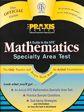 A Guide to the Mathematics Specialty Area Test 9780446392662