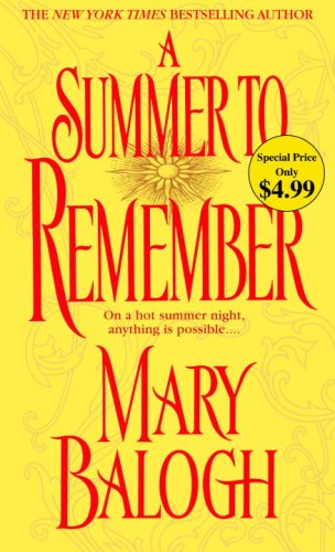 A Summer to Remember 9780440244189