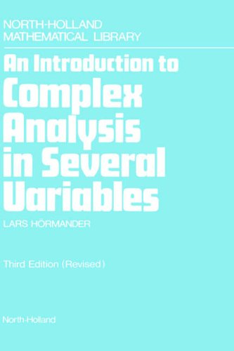 An Introduction to Complex Analysis in Several Variables 9780444884466