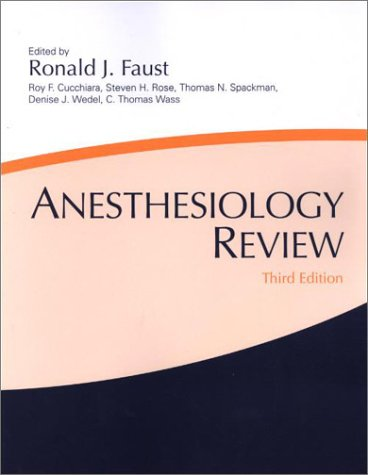 Anesthesiology Review 9780443066016