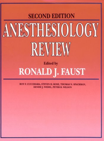 Anesthesiology Review 9780443089862