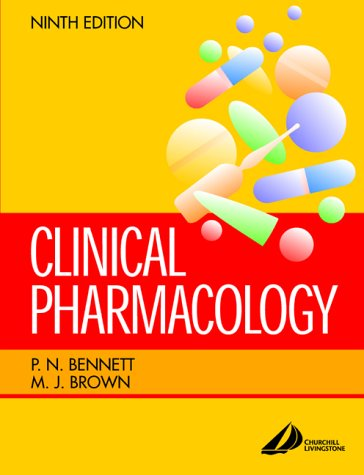 Clinical Pharmacology 9780443064807