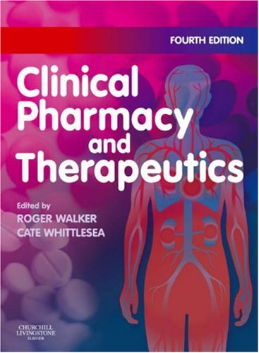Clinical Pharmacy and Therapeutics 9780443102851