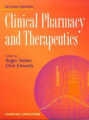 Clinical Pharmacy and Therapeutics 9780443058165