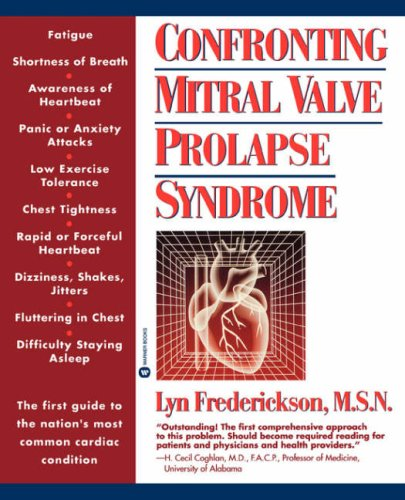 Confronting Mitral Valve Prolapse Syndrome 9780446394079