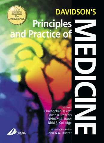 Davidson's Principles and Practice of Medicine: With Student Consult Access 9780443070358