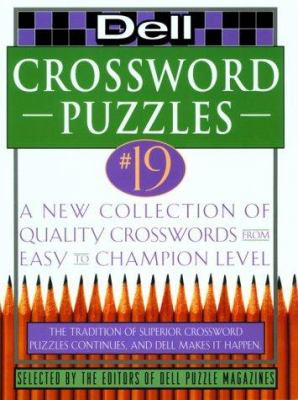 Dell Crossword Puzzles #19 9780440507505