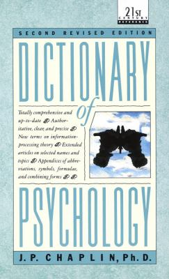 Dictionary of Psychology 9780440319252