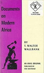 Documents on Modern Africa 1401325