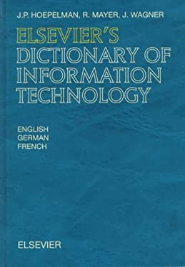 Elsevier's Dictionary of Information Technology 9780444884107