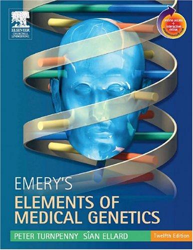 Emery's Elements of Medical Genetics 9780443100451