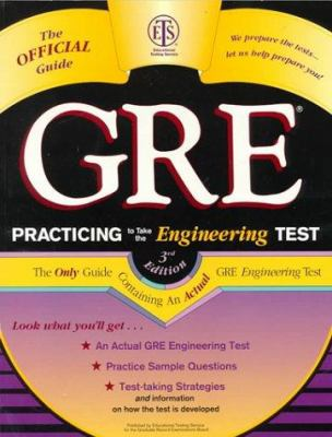 GRE Practicing to Take the Engineering Test 9780446395779