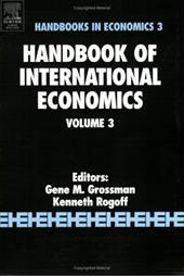 Handbook of International Economics, Volume 3 1419904