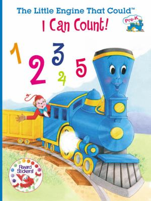 I Can Count!: Learn Numbers and Counting with the Little Engine That Could! [With Stickers] 9780448435459