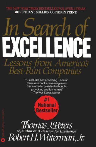 In Search of Excellence 9780446389761
