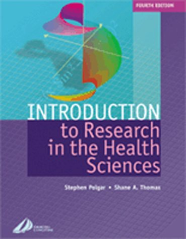 Introduction to Research in Health Sciences 9780443062650