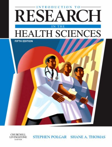 Introduction to Research in the Health Sciences 9780443074295