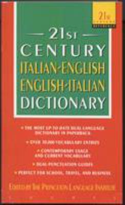 Italian-English/English-Italian Dictionary