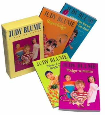 Judy Blume Boxed Set: Fudge-A-Mania; Otherwise Known as Sheila; Tales of a Fourth Grade Nothing; Superfudge 9780440799207