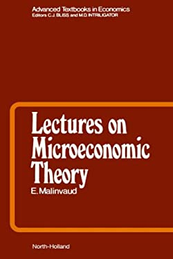 Lectures on Microeconomic Theory 9780444876508