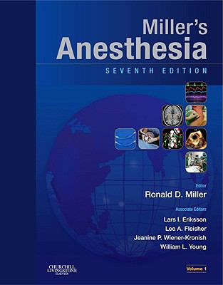 Miller's Anesthesia 2 Volume Set: Expert Consult - Online and Print 9780443069598