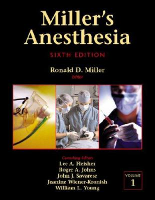 Miller's Anesthesia E-Dition: Text with Continually Updated Online Reference, 2-Volume Set 9780443066566