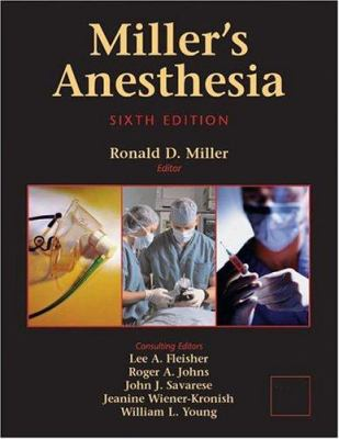 Miller's Anesthesia: 2-Volume Set 9780443066184
