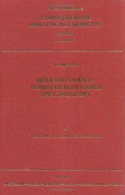 Modern Fourier Transform Infrared Spectroscopy 9780444500441