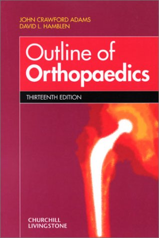 Outline of Orthopaedics 9780443070242