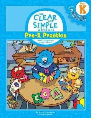 Pre-K Practice: More Concepts for Early Learning [With Poster to ColorWith 32 Flash Cards] 9780448444345