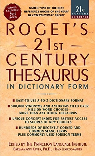 Roget's 21st Century Thesaurus: In Dictionary Form 9780440242697