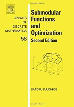 Submodular Functions and Optimization 9780444520869