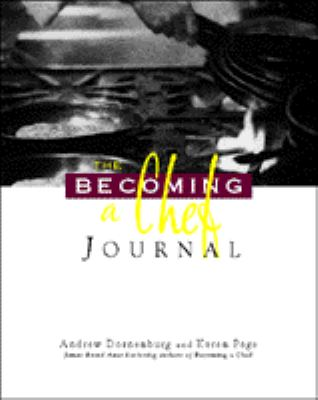 The Becoming a Chef Journal 9780442023324