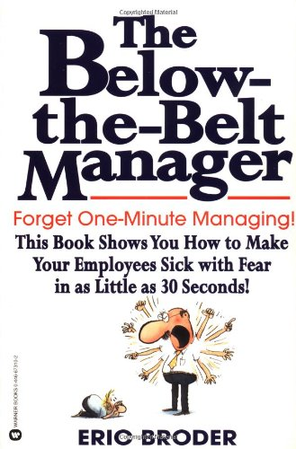 The Below-The-Belt Manager 9780446673105
