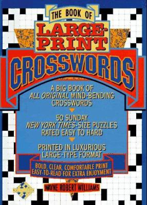 The Book of Large-Print Crosswords 9780440503507