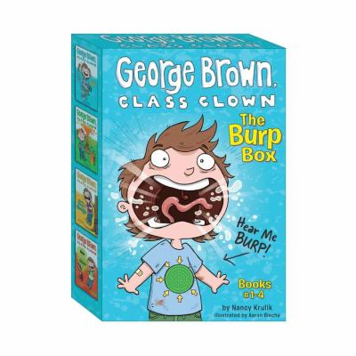 George Brown Class Clown: The Burp Box 9780448456973