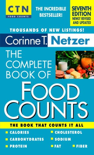 The Complete Book of Food Counts 9780440241232
