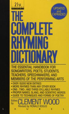 The Complete Rhyming Dictionary 9780440212058