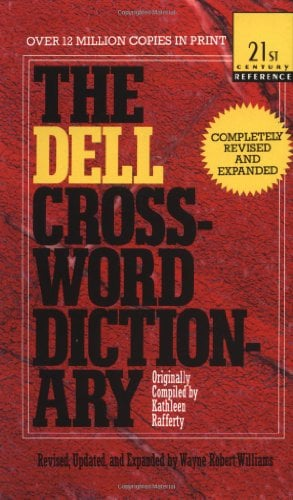 The Dell Crossword Dictionary 9780440218715