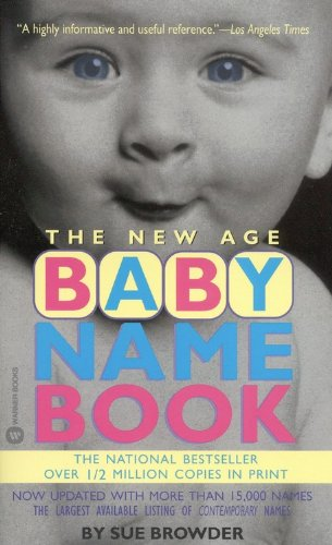 The New Age Baby Name Book 9780446606073