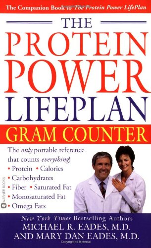 The Protein Power Lifeplan Gram Counter 9780446608244