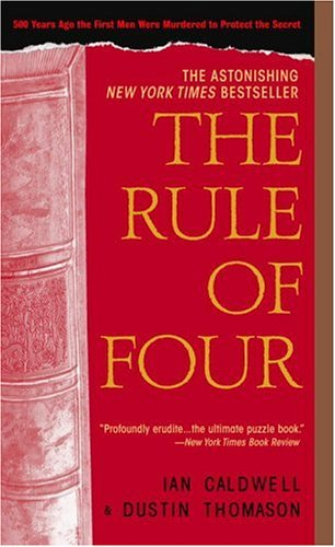 The Rule of Four 9780440241355
