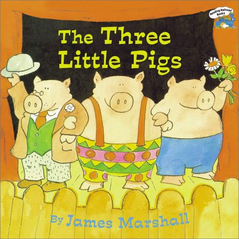 The Three Little Pigs by James Marshall - Reviews ...